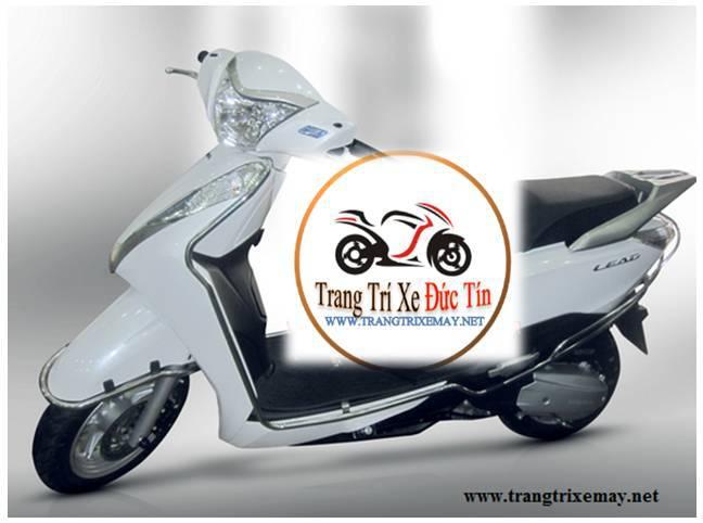 Đồ chơi trang trí xe Lead 2013_ Khung inox bảo vệ loại mới